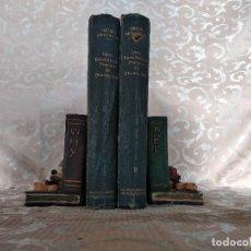 Libros antiguos: GRAN ENCICLOPEDIA PRÁCTICA DE ELECTRICIDAD, H. DESARCES, LABOR, BARCELONA, 1910´S, 2 TOMOS. Lote 148474330