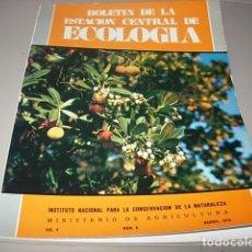 Libros antiguos: BOLETÍN DE LA ESTACIÓN CENTRAL DE ECOLOGÍA. VOL. 3. NÚMERO 6 1974. Lote 148489286