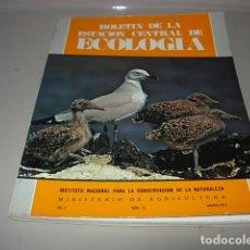 Libros antiguos: BOLETÍN DE LA ESTACIÓN CENTRAL DE ECOLOGÍA. VOL. 6. NÚM. 12. 1977. Lote 148489334