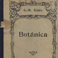 Livros antigos: G. M. BRUÑO, BOTÁNICA. Lote 137518346