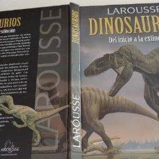 Libros antiguos: DINOSAURIOS DEL INICIO A LA EXTINCION-LAROUSE-TAPA DURA-192 PAGINAS-AÑO 2008, NUEVO-. Lote 148561454