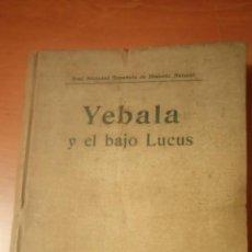 Libros antiguos: ANGEL CABRERA MAMÍFEROS EN: YEBALA Y EL BAJO LUCUS. 1914 REAL SOCIEDAD ESPAÑOLA DE HISTORIA NATURAL. Lote 149374542