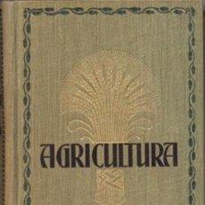 Libros antiguos: MANUAL DE AGRICULTURA - SOLDANI, J. - A-AGRI-136. Lote 149381738