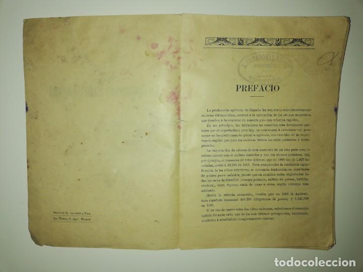 Libros antiguos: La Aplicación de los Abonos. Biblioteca Agronómica Popular - Foto 13 - 149548494