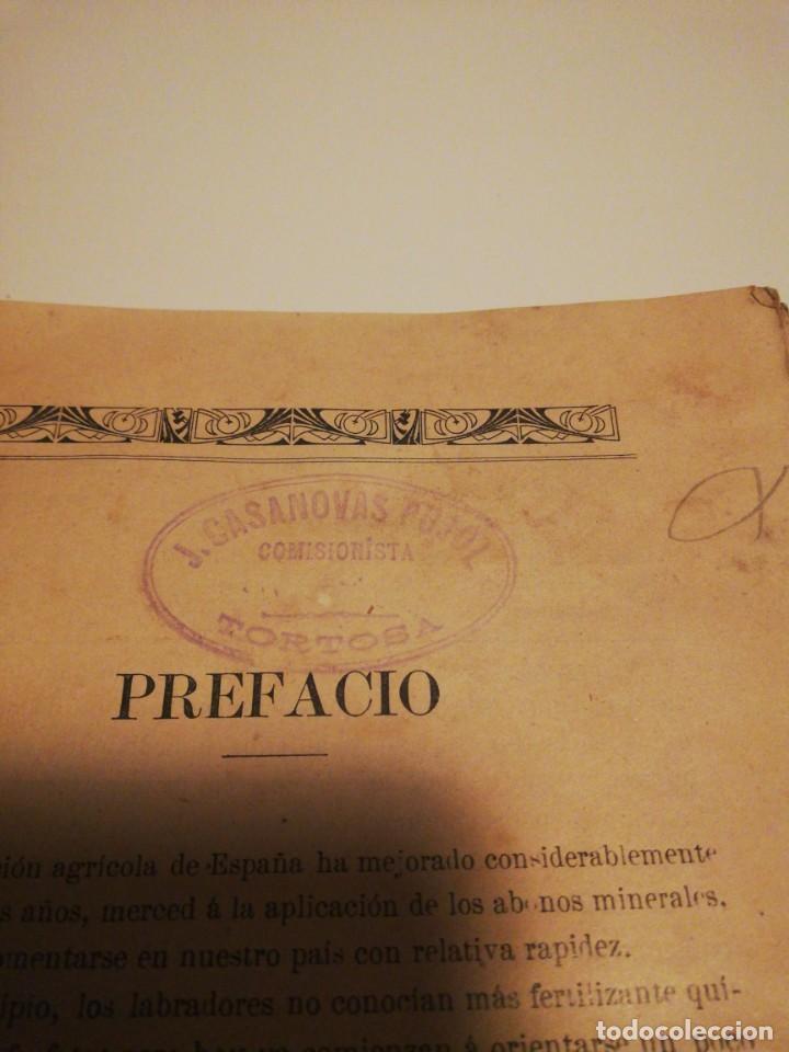 Libros antiguos: La Aplicación de los Abonos. Biblioteca Agronómica Popular - Foto 14 - 149548494