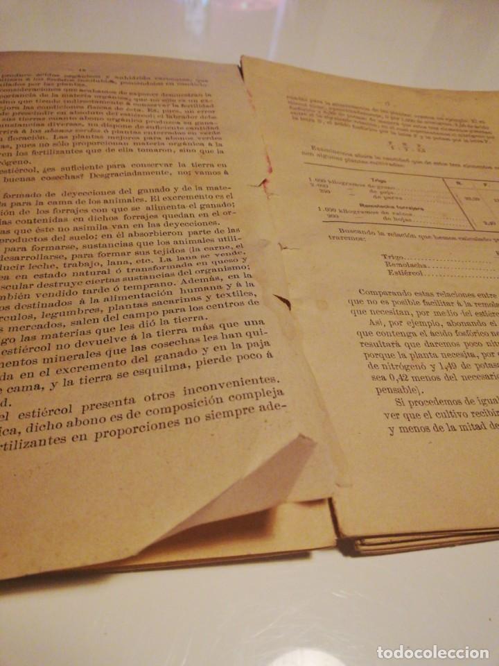 Libros antiguos: La Aplicación de los Abonos. Biblioteca Agronómica Popular - Foto 16 - 149548494