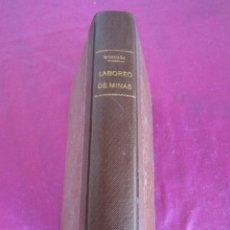 Libros antiguos: ELEMENTOS DE LABOREO DE MINAS - MONCADA Y FERRO, GINÉS 1893. Lote 149445938