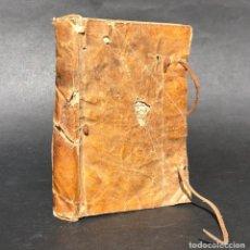 Libros antiguos: 1765 FISONOMÍA Y VARIOS SECRETOS DE LA NATURALEZA - PERGAMINO - REMEDIOS - VALENCIA. Lote 150531154