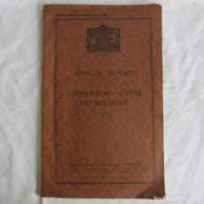 Libros antiguos: ANNUAL REPORT GEOLOGICAL SURVEY NIGERIA 1935 CARTOGRAFÍA Y RECURSOS MINERALES. EN INGLÉS. Lote 150625290
