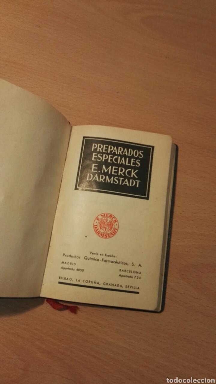 Libros antiguos: Preparados especiales E.Merck Darmstadt - Foto 2 - 150956193