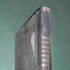 Libros antiguos: SAGRA, RAMÓN DE LA: HISTORIA FISICA, POLITICA Y NATURAL DE LA ISLA DE CUBA. TOMO VI: FORAMINÍFERAS. Lote 151120962