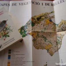 Libros antiguos: ATLES DELS AUCELLS NIDIFICANTS DE MALLORCA I CABRERA. GOB. PALMA DE MALLORCA, 1997.. Lote 151197574
