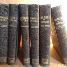 Libros antiguos: HISTORIA NATURAL DE EDITORIAL GALLACH .. Lote 151222106