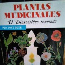 Libros antiguos: PLANTAS MEDICINALES . Lote 151357726
