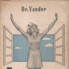 Libros antiguos: VANDER : EL ASMA Y SU CURACIÓN (1945). Lote 151565242
