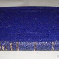 Libros antiguos: TABLES DE LOGARITHMES. JÉROME DE LA LANDE. 1863. Lote 151856522