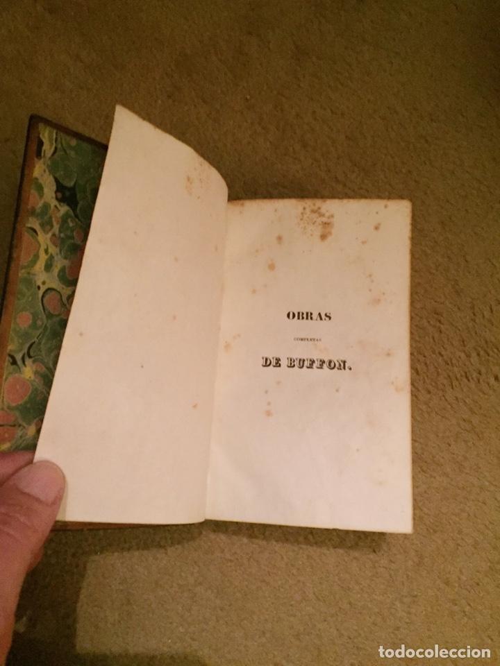 Libros antiguos: Colección Obras Completas de Buffon - Foto 5 - 151907094
