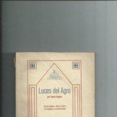 Libros antiguos: LUCES DEL AGRO - DANIEL NAGORE - PAMPLONA 1931 - DEDICATORIA DEL AUTOR - NAVARRA. Lote 152223630