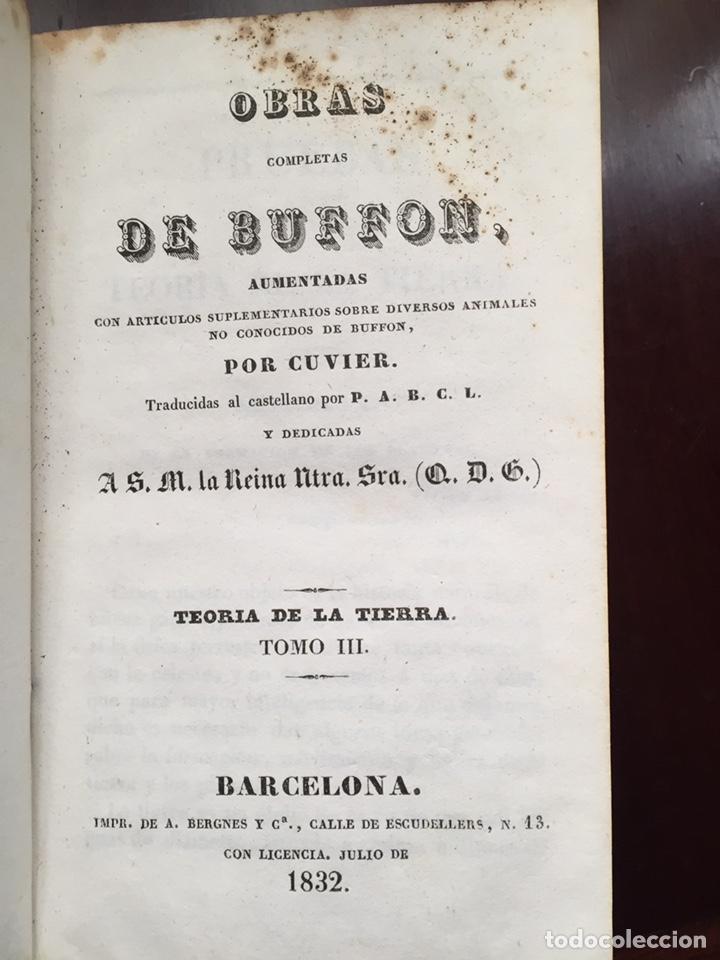Libros antiguos: Colección Obras Completas de Buffon - Foto 6 - 151907094