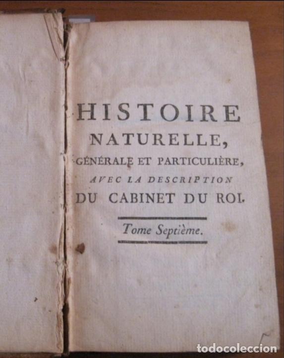 Libros antiguos: Histoire Naturelle, générale et particuliere, Tomo VII, 1779. Buffon. Con numerosos grabados - Foto 14 - 153434185