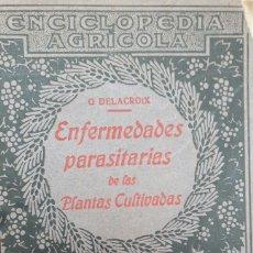 Libros antiguos: ENCICLOPEDIA AGRÍCOLA AÑO 1919 ENFERMEDADES DE LAS PLANTAS CULTIVADAS. Lote 153445412