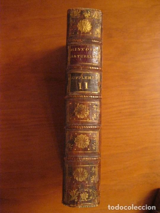 Libros antiguos: Suplemet a l histoire naturelle Tomo XI, 1782. Buffon. Posee grabados - Foto 13 - 153740322