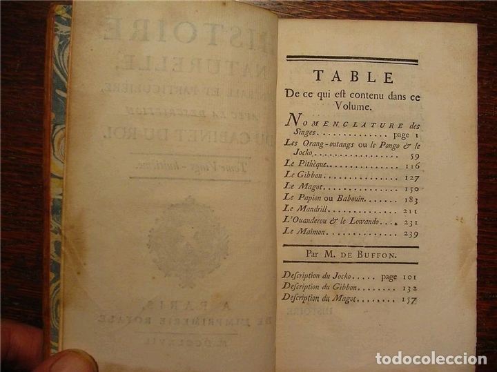 Libros antiguos: Histoire Naturelle, générale et particuliére... Tomo 28. 1768. Buffon. Posee 18 grabados - Foto 25 - 153746130
