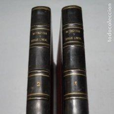 Libros antiguos: MATEMATICAS Y DIBUJO LINEAL.. Lote 153935138