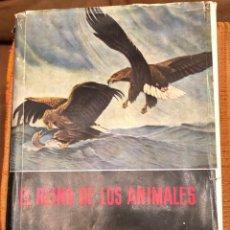 Libros antiguos: 1 LOS ANIMALES ACUATICOS Y LAS REGIONES POLARES(17€). Lote 154376142