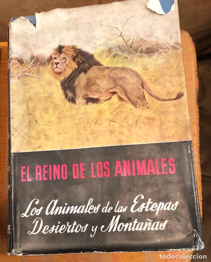 3 LOS ANIMALES DE LAS ESTEPAS DESIERTOS Y MONTAÑAS(17€) (Libros Antiguos, Raros y Curiosos - Ciencias, Manuales y Oficios - Bilogía y Botánica)