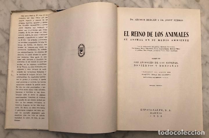 Libros antiguos: 3 Los Animales de las Estepas Desiertos y Montañas(17€) - Foto 2 - 154376358