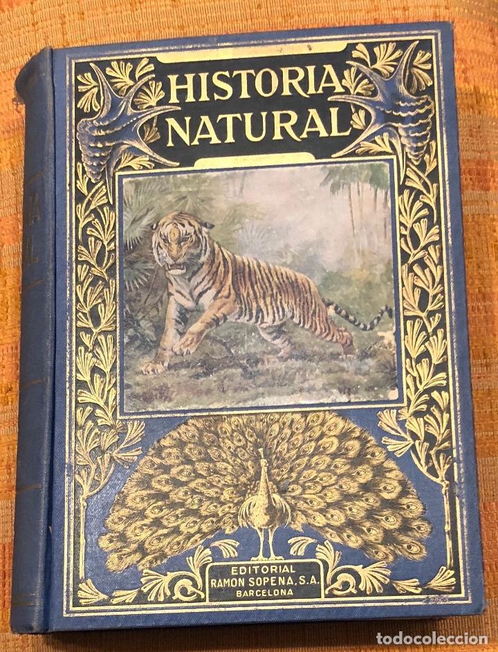 HISTORIA NATURAL(45€) (Libros Antiguos, Raros y Curiosos - Ciencias, Manuales y Oficios - Bilogía y Botánica)