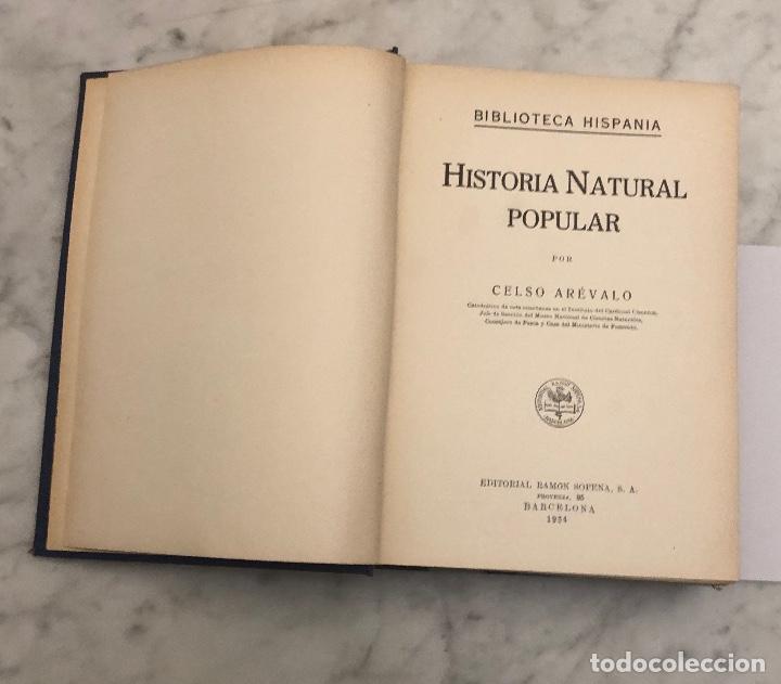 Libros antiguos: HISTORIA NATURAL(45€) - Foto 2 - 154376562