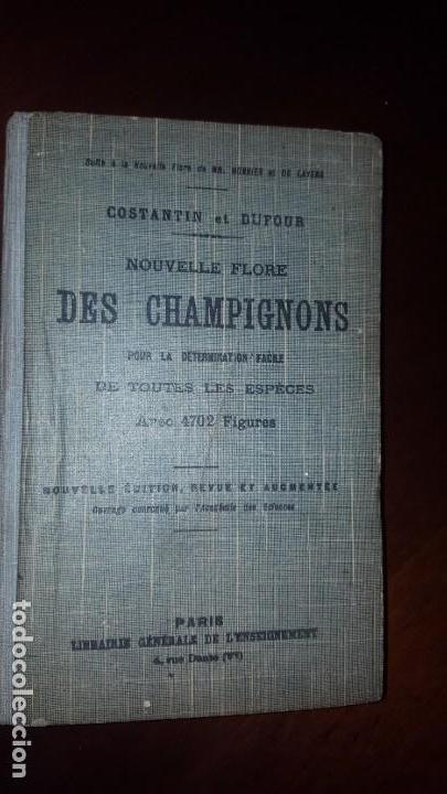 NOUVELLE FLORE DES CHAMPIGNONS - 1934 (Libros Antiguos, Raros y Curiosos - Ciencias, Manuales y Oficios - Bilogía y Botánica)