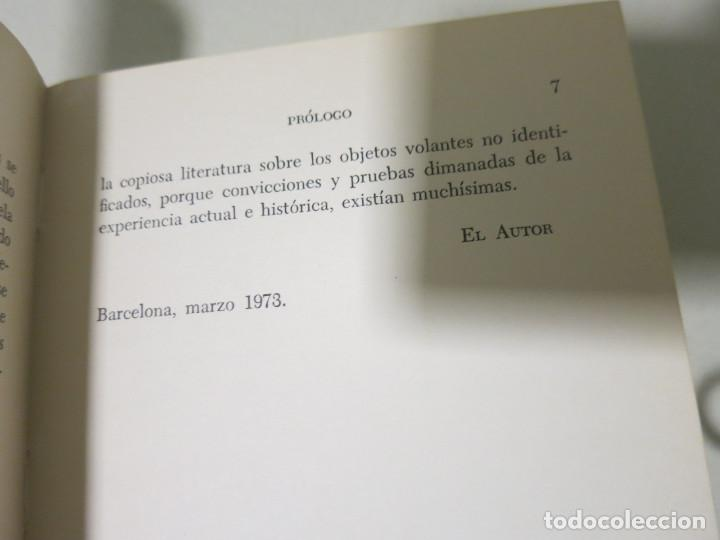 Libros antiguos: HACIA UNA FÍSICA DE LOS OVNI LIBRO MITICO FRANCISCO AREJULA AÑO 1973 - Foto 10 - 155039194