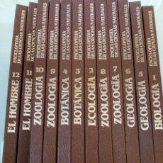Libros antiguos: ENCICLOPEDIA DE LAS CIENCIAS NATURALES NAUTA 1987,BUEN ESTADO ,12 TOMOS.REF 006. Lote 155360738