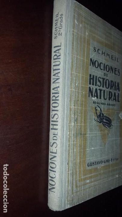 Libros antiguos: Nociones de Historia Natural - Segundo grado - Schmeil - 1926 - Foto 3 - 155528078