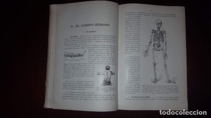 Libros antiguos: Nociones de Historia Natural - Segundo grado - Schmeil - 1926 - Foto 13 - 155528078
