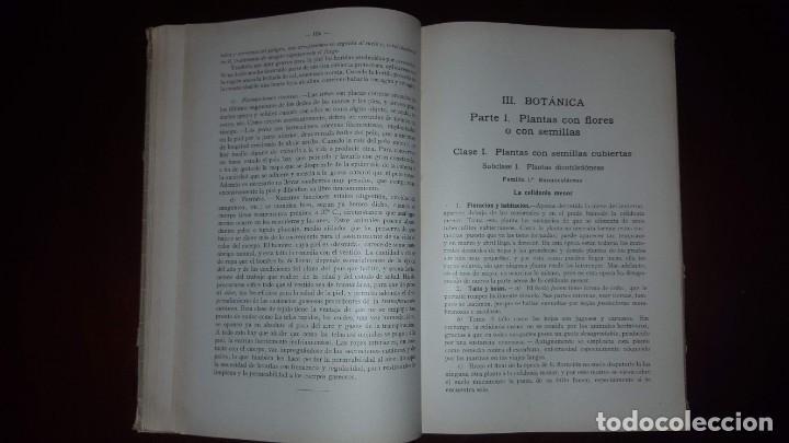Libros antiguos: Nociones de Historia Natural - Segundo grado - Schmeil - 1926 - Foto 14 - 155528078