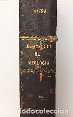 Libros antiguos: Compendio de Geología (M., 1872 Vilanova y Piera) Láminas grabadas plegadas (Fósiles, Geognosia, Geo - Foto 6 - 155544450