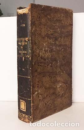 Libros antiguos: Compendio de Geología (M., 1872 Vilanova y Piera) Láminas grabadas plegadas (Fósiles, Geognosia, Geo - Foto 7 - 155544450