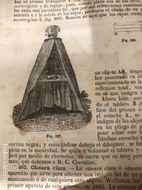 Libros antiguos: TRATADO ELEMENTAL DE FÍSICA EXPERIMENTAL Y APLICADA Y DE METEOROLOGÍA. GANOT 1859 - Foto 4 - 156950602