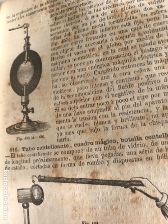 Libros antiguos: TRATADO ELEMENTAL DE FÍSICA EXPERIMENTAL Y APLICADA Y DE METEOROLOGÍA. GANOT 1859 - Foto 5 - 156950602
