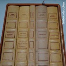 Libros antiguos: CODEX MADRID 5 TOMOS DE LEONARDO DA VINCI EDICIÓN LIMITADA DE 980 EJEMPLARES CON Nº 769. Lote 157014390