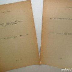Libros antiguos: NOTA Y SEGUNDA NOTA ACERCA DE LA TECTÓNICA DE LA SIERRA DE CABRA, JUAN CARANDEL, 1928. Lote 157241454