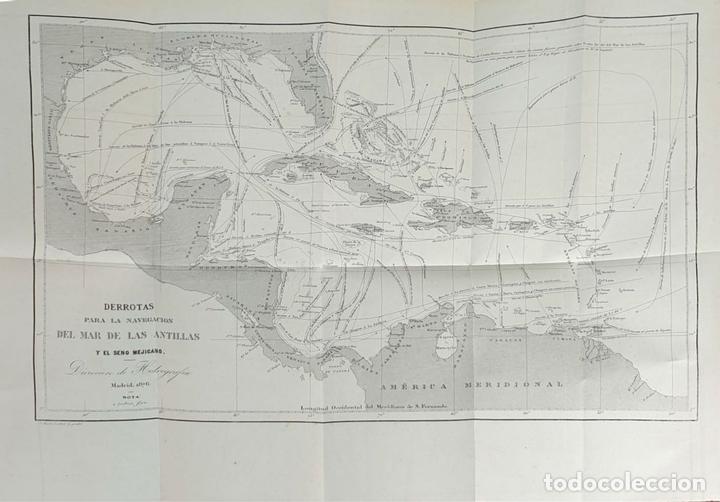 Libros antiguos: DERROTERO DE LAS ISLAS ANTILLAS. DIRECCIÓN DE HIDROGRAFÍA. VVAA. 2 VOL 1865/1877. - Foto 6 - 157352854