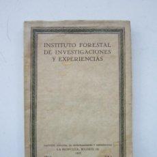 Libros antiguos: LA SEMANA FORESTAL DE BARCELONA. MADRID: INSTITUTO FORESTAL DE INVESTIGACIONES Y EXPERIENCIAS, 1929. Lote 157785422