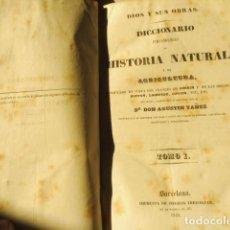Libros antiguos: 1841-1842 DIOS Y SUS OBRAS LECCIONES DE LA NATURALEZA + DICCIONARIO PINTORESCO H NATURAL 5 TOMOS. Lote 157799318