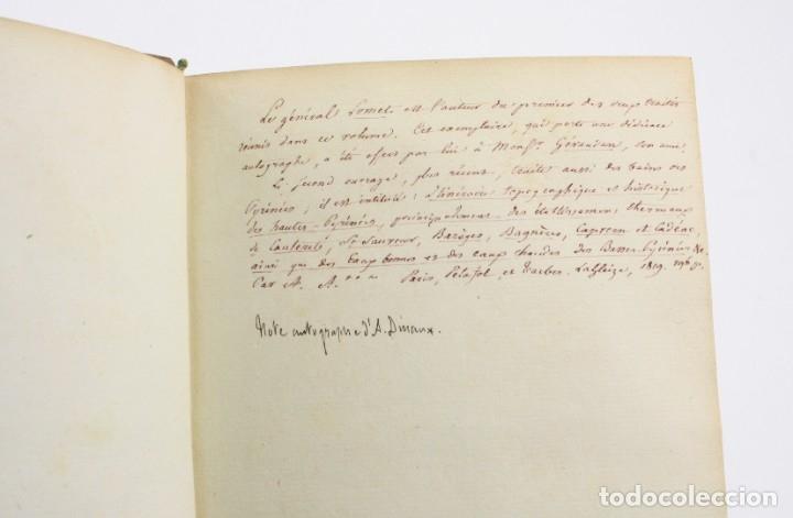 Libros antiguos: Mémoire sur les eaux minérales et les établissemens thermaux des Pyrénées, 1795, R. Vatar, Paris. - Foto 3 - 158027366