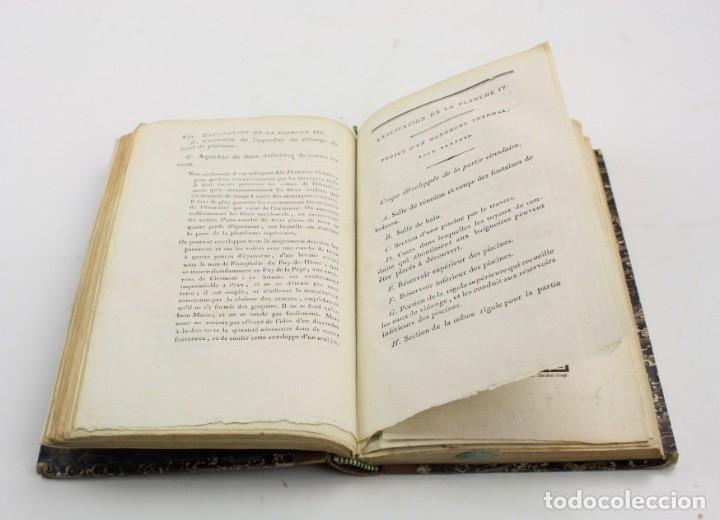 Libros antiguos: Mémoire sur les eaux minérales et les établissemens thermaux des Pyrénées, 1795, R. Vatar, Paris. - Foto 6 - 158027366